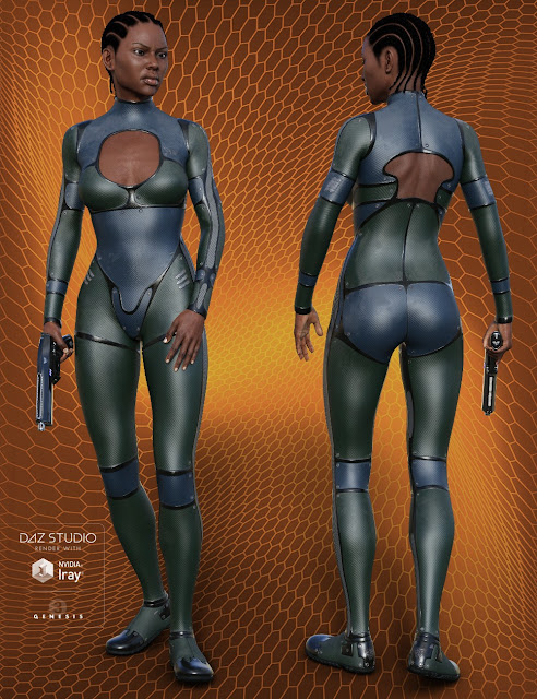 Mace Assassin for Genesis 3 Female