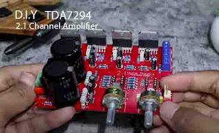 TDA7294 2.1 Amplifier Schematic and PCB Layout