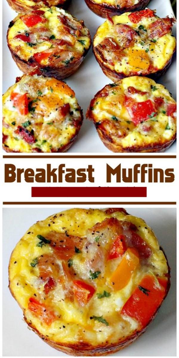 Breakfast Muffins #breakfastideas