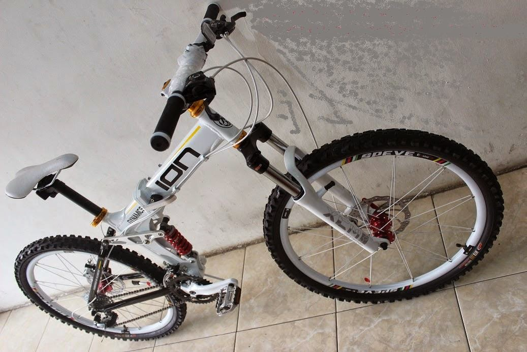 Sepeda Lipat MTB ION Dynamic FULSUS Shimano Altus 24 Speed