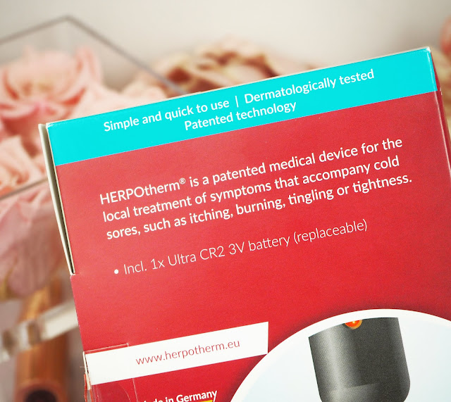 HERPOtherm® electronic cold sore treatment device review