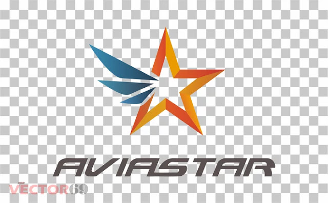 Logo Aviastar - Download Vector File PNG (Portable Network Graphics)