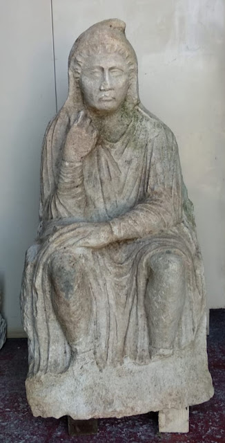 Roman statue discovered near Venice