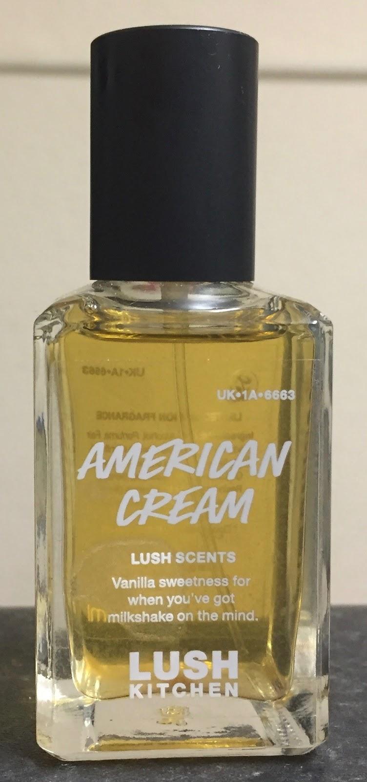 All Things Lush UK: American Cream Liquid Perfume