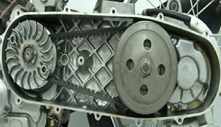 Ganti V-Belt Yamaha NMax KM 25.000, Apa Saja yang diganti?
