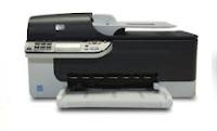HP Officejet J4580 Driver Printer Download