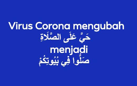 Lebih Takut Virus Corona daripada Allah SWT?