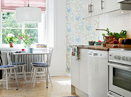 Ideas For Small Apartment Kitchens Layout 1