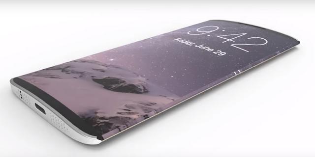 iPhone 8 Bakal Melengkung Dan Nyaman di Pakai