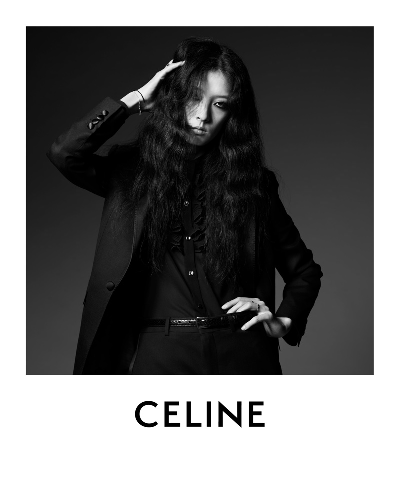 Hedi Slimane captures So Young Kang in black and white