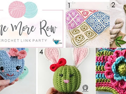One More Row - Free Crochet Link Party #16