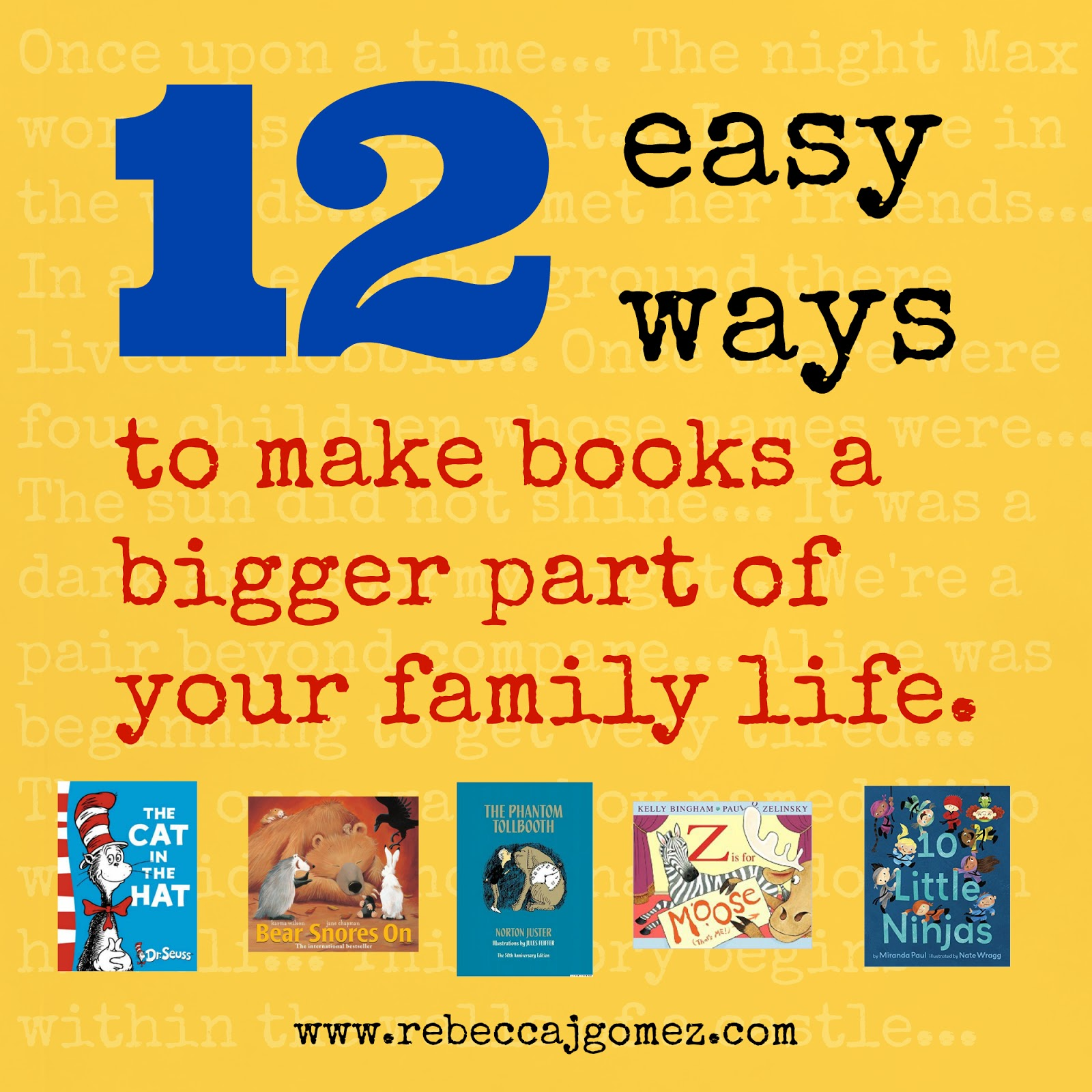 How To Make A Book About Your Life : Rebecca j gomez easy ways to make books a bigger part