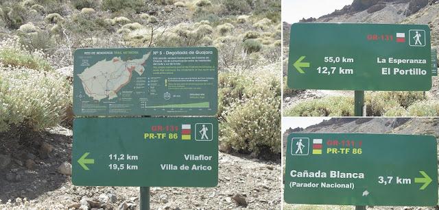 Mar a Cumbre - PR-TF-86 - Ruta 4-Siete Cañadas - Tenerife - Islas Canarias
