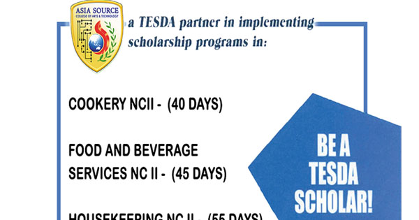 4 FREE Training and Assessment Course under the Training for Work Scholarship Program (TWSP 2020)