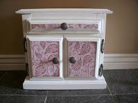 mini cabinet makeover