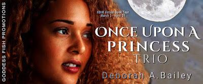 Goddess Fish tour banner for Once Upon a Princess Trio