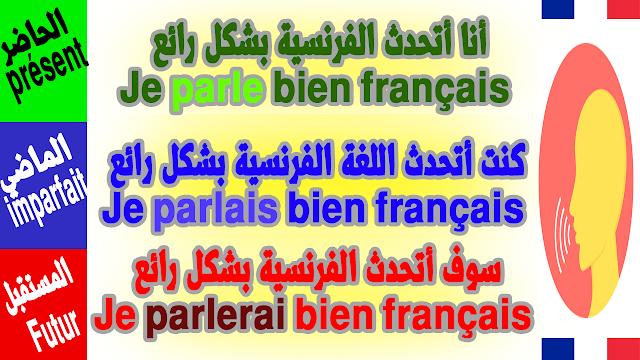 تعلم الفرنسية والتحدث بها بشكل رائع للمبتدئين من الصفر Conjugaison du verbe Parler