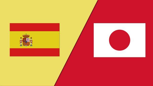 مباراة اسبانيا واليابان اليوم