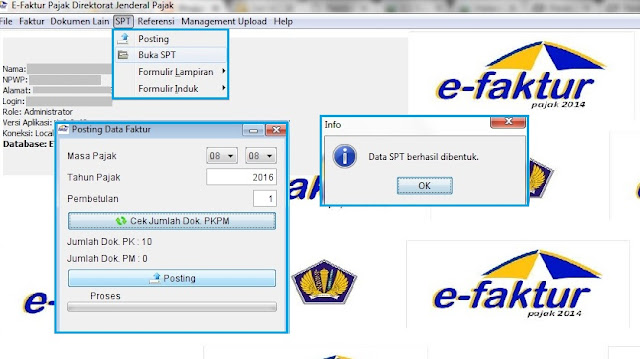 Posting SPT Masa PPN Pembetulan 1 di e-Faktur