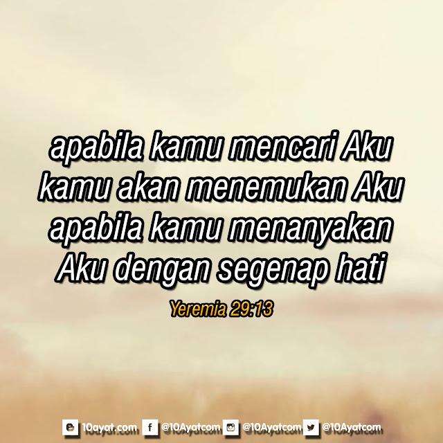 Yeremia 29:13