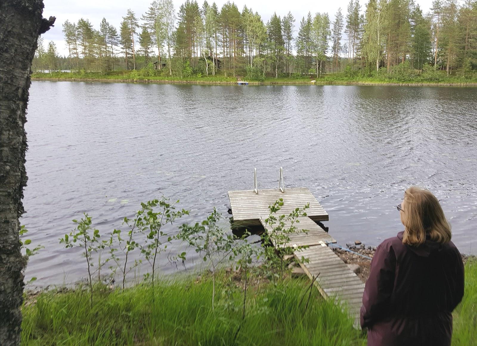 mökkiranta Rauanjärjellä Pohjois-Karjalassa