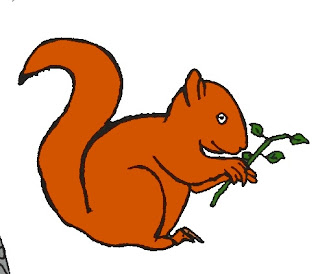Essay on Squirrel in Hindi