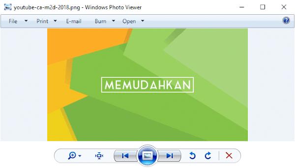 Pasang Windows Photo Viewer di Windows 10