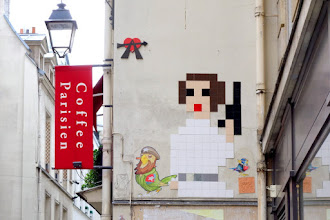 Sunday Street Art : Invader - rue Princesse - Paris 6
