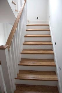 escalera de madera parquets serra