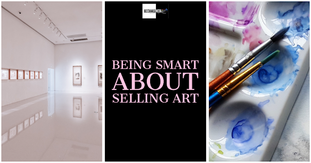 Smart about selling art cover image