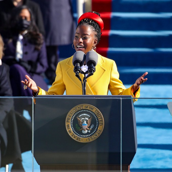 22-year-old Amanda Gorman becomes youngest poet in US history to read at presidential inauguration