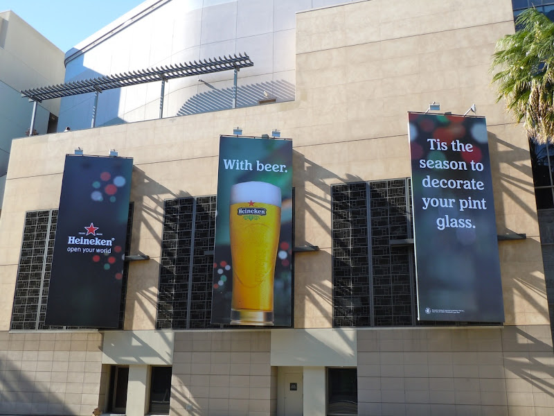 Heineken decorate your pint glass billboard