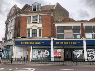 Blockbuster Video Express on London Road in Westcliff-on-Sea. Photo by Mark Routh, July 2020