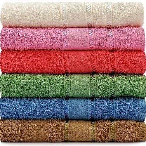 Jogo De Toalhas 6 Peças - Rosto Algodão Coloridas Dhara Appel