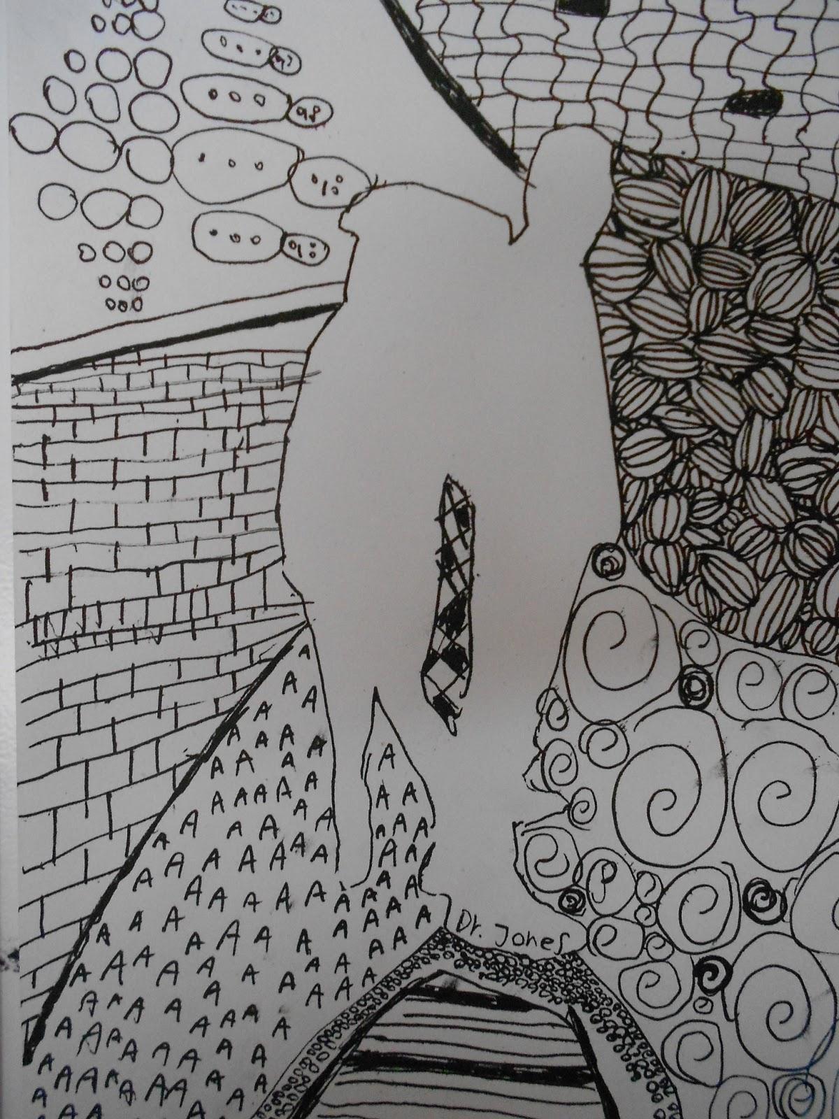 doodle mønstre fru billedkunst
