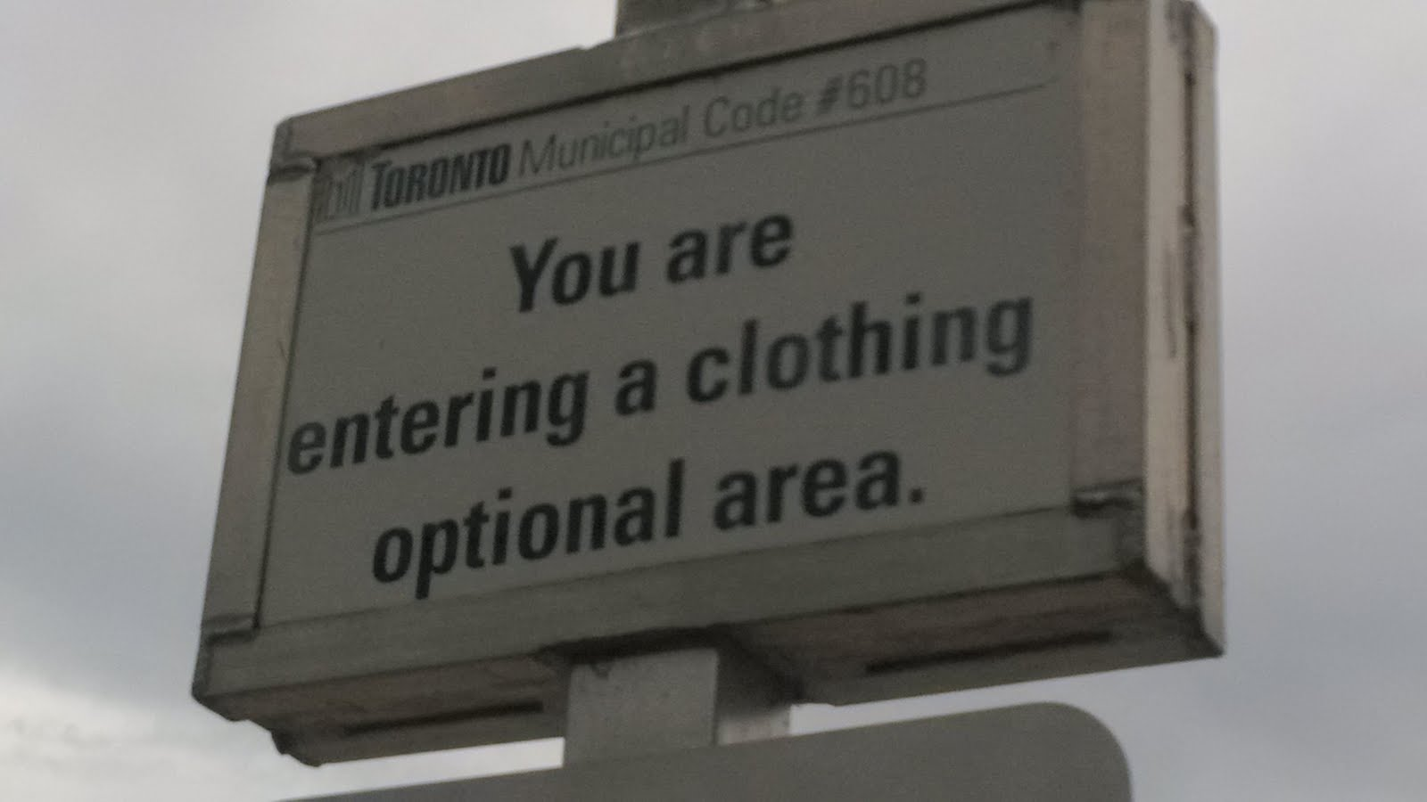 You are entering a clothing optional area