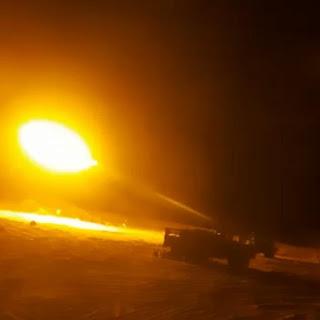 دمار وخسائر في أم أدگن بقطاع البگاري إثر قصف عنيف للجيش الصحراوي على قوات الإحتلال.