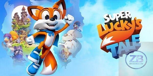 Super Lucky's Tale PC Game Free Download from www.zainsbaba.com