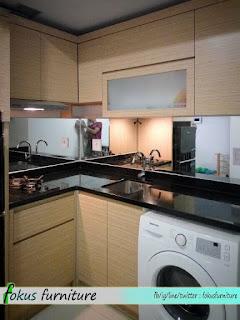 Model kitchenset buat apartemen