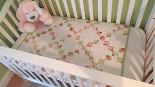 Pre-cut Baby Quilt Kit listing