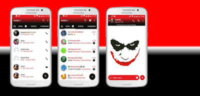 Joker Theme For GBWhatsApp By Liedeh