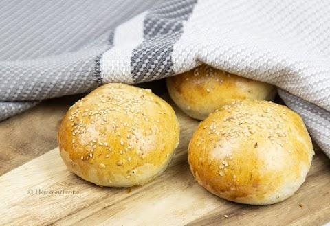 Brioche Hamburger Buns
