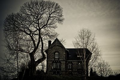 La casa de la bruja: cuento paranormal