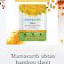 Mamaearth ubtan bamboo sheet mask review!!