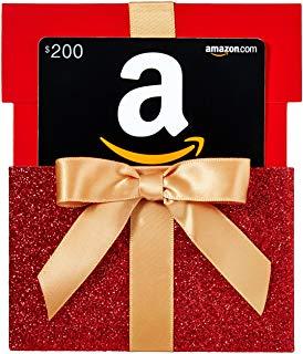 Sorteio: Ganhe $ 200 Gift Cards da  Amazon