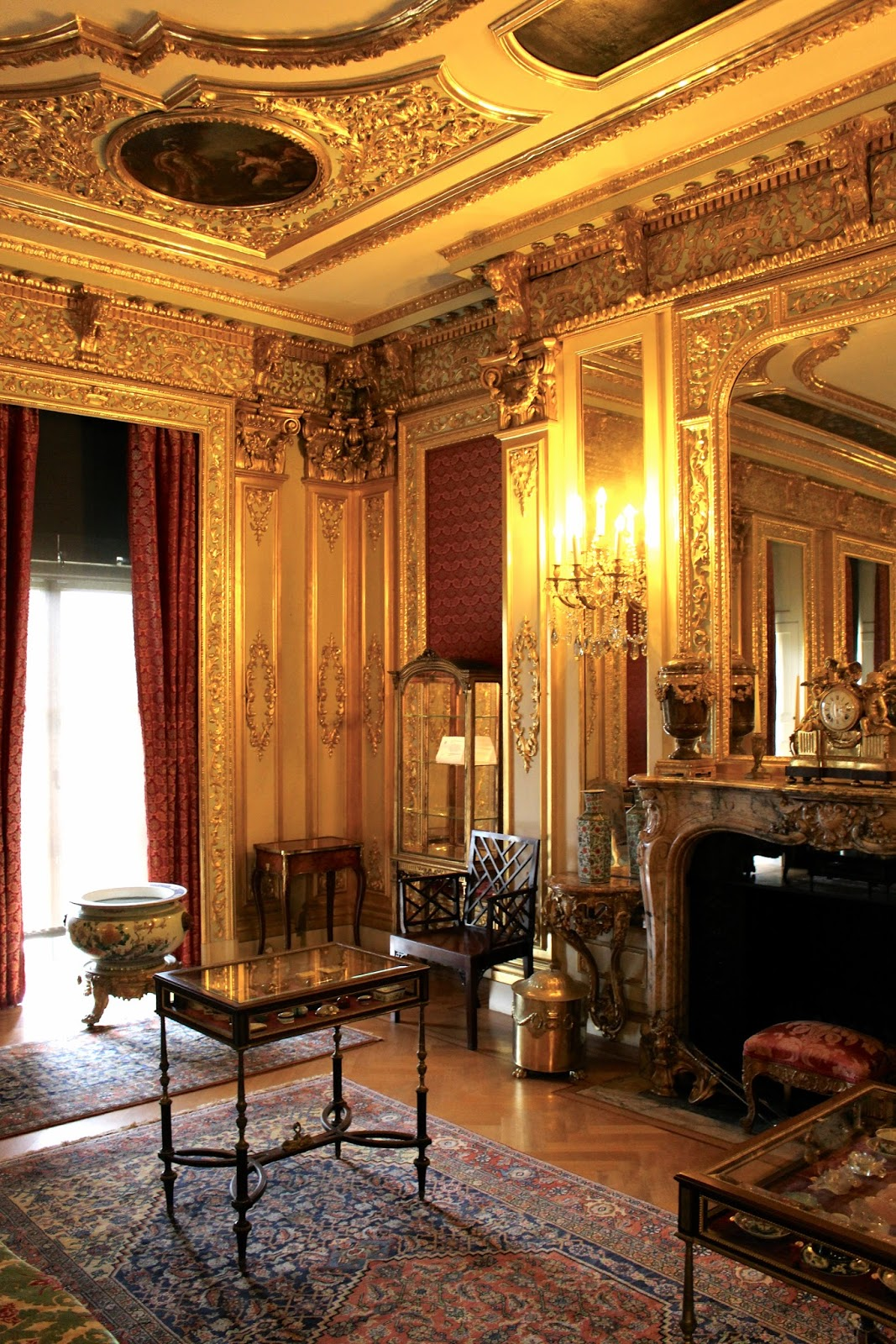 The Gold Room found at Polesden Lacey