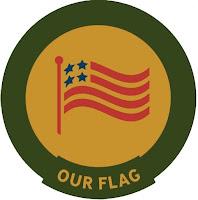 Our Flag trail badge
