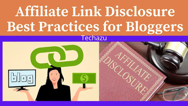 Affiliate Link Disclosure Best Practices