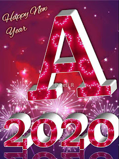 Happy new year 2020 A