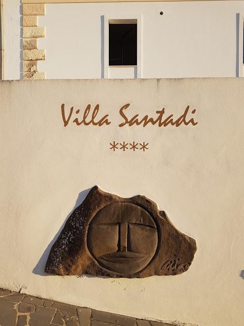 Hotel villa Santadi-Esterno